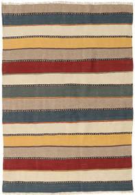 Kelim Teppe 122X184 Ekte Orientalsk Håndvevd Lys Blå/Beige (Ull, Persia/Iran)