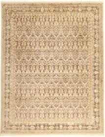 Tabriz Royal Teppe 242X311 Ekte Orientalsk Håndknyttet Beige/Mørk Beige ( India)