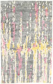 Handtufted Teppe 150X238 Moderne Lys Grå/Hvit/Creme (Ull, India)