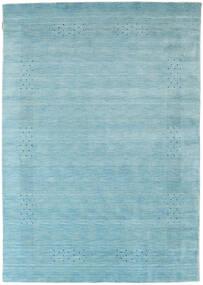 Loribaf Loom Beta - Lys Blå Teppe 160X230 Moderne Lys Blå/Turkis Blå (Ull, India)