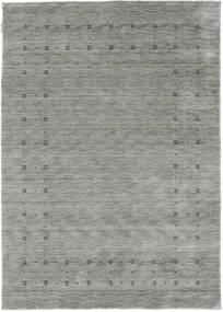 Loribaf Loom Delta - Grå Teppe 160X230 Moderne Lys Grå/Turkis Blå (Ull, India)