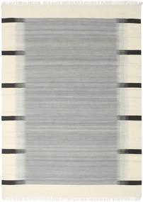 Ikat - Grå Teppe 210X290 Ekte Moderne Håndvevd Turkis Blå/Beige (Ull, India)