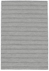 Kelim Long Stitch - Grå Teppe 140X200 Ekte Moderne Håndvevd Lys Grå/Hvit/Creme (Ull, India)