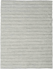 Kelim Long Stitch - Grå Teppe 190X240 Ekte Moderne Håndvevd Lys Grå/Beige (Ull, India)