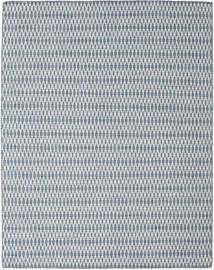 Kelim Long Stitch - Blå Teppe 190X240 Ekte Moderne Håndvevd Lys Grå/Lys Blå (Ull, India)
