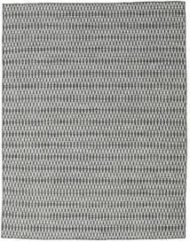 Kelim Long Stitch - Svart/Grå Teppe 190X240 Ekte Moderne Håndvevd Lys Grå/Mørk Grå (Ull, India)