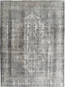 Colored Vintage Teppe 285X375 Ekte Moderne Håndknyttet Lys Grå/Mørk Grå Stort (Ull, Persia/Iran)
