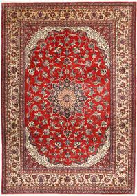 Najafabad Teppe 266X390 Ekte Orientalsk Håndknyttet Mørk Rød/Rust Stort (Ull, Persia/Iran)