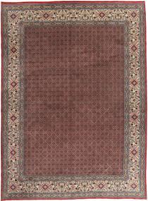 Moud Teppe 295X395 Ekte Orientalsk Håndknyttet Mørk Rød/Mørk Brun Stort (Ull, Persia/Iran)