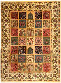 Bakhtiar Teppe 298X400 Ekte Orientalsk Håndknyttet Brun/Mørk Beige Stort (Ull, Persia/Iran)
