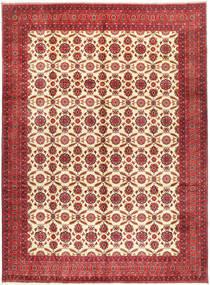 Afghan Khal Mohammadi Teppe 295X395 Ekte Orientalsk Håndknyttet Mørk Rød/Rust Stort (Ull, Afghanistan)