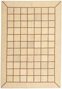 Kelim Patchwork Teppe 173X251 Ekte Moderne Håndvevd Beige/Lysbrun (Ull, Persia/Iran)