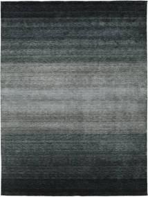 Gabbeh Rainbow - Grå Teppe 300X400 Moderne Svart/Mørk Grå/Grønn Stort (Ull, India)