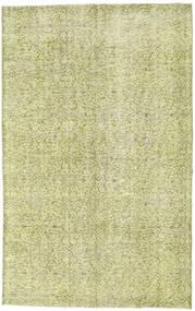 Colored Vintage Teppe 154X244 Ekte Moderne Håndknyttet Lysgrønn/Mørk Beige (Ull, Tyrkia)