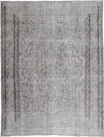 Colored Vintage Teppe 290X380 Ekte Moderne Håndknyttet Lys Grå/Mørk Grå Stort (Ull, Persia/Iran)