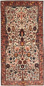 Bakhtiar Patina Teppe 150X303 Ekte Orientalsk Håndknyttet Mørk Brun/Beige (Ull, Persia/Iran)