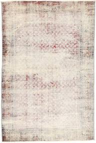 Vintage Teppe 129X208 Ekte Moderne Håndknyttet Lys Grå/Beige (Ull, Persia/Iran)