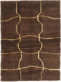 Gabbeh Persia Teppe 153X208 Ekte Moderne Håndknyttet Mørk Brun/Brun (Ull, Persia/Iran)