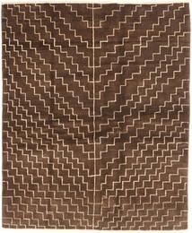 Gabbeh Persia Teppe 151X186 Ekte Moderne Håndknyttet Mørk Brun/Brun (Ull, Persia/Iran)