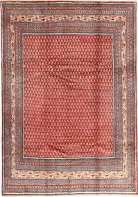 Sarough Mir Teppe 213X305 Ekte Orientalsk Håndknyttet Mørk Rød/Rust (Ull, Persia/Iran)