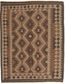Kelim Maimane Teppe 148X187 Ekte Orientalsk Håndvevd Brun/Mørk Brun (Ull, Afghanistan)