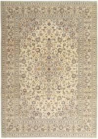 Keshan Patina Teppe 243X340 Ekte Orientalsk Håndknyttet Beige/Lys Grå (Ull, Persia/Iran)