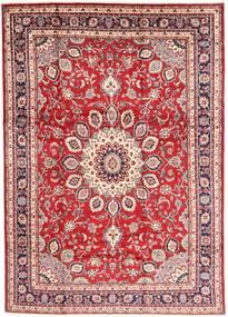 Hamadan Shahrbaf Teppe 210X297 Ekte Orientalsk Håndknyttet Mørk Rød/Beige (Ull, Persia/Iran)