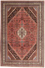 Hamadan Patina Teppe 210X320 Ekte Orientalsk Håndknyttet Mørk Rød/Brun (Ull, Persia/Iran)