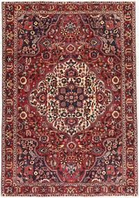 Bakhtiar Patina Teppe 227X327 Ekte Orientalsk Håndknyttet Mørk Rød/Mørk Brun (Ull, Persia/Iran)
