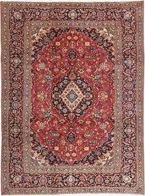 Keshan Patina Teppe 242X333 Ekte Orientalsk Håndknyttet Mørk Rød/Lysbrun (Ull, Persia/Iran)