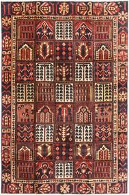 Bakhtiar Patina Teppe 195X298 Ekte Orientalsk Håndknyttet Mørk Rød/Mørk Brun (Ull, Persia/Iran)