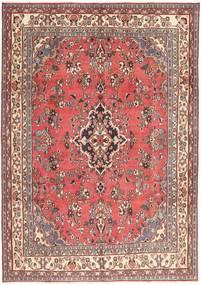 Hamadan Patina Teppe 203X298 Ekte Orientalsk Håndknyttet Lyserosa/Mørk Rød (Ull, Persia/Iran)