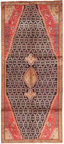 Koliai Teppe 127X310 Ekte Orientalsk Håndknyttet Teppeløpere Rust/Brun (Ull, Persia/Iran)