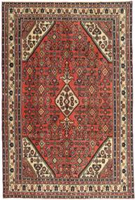 Hamadan Patina Teppe 200X295 Ekte Orientalsk Håndknyttet Mørk Brun/Mørk Rød (Ull, Persia/Iran)