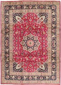 Kashmar Teppe 246X343 Ekte Orientalsk Håndknyttet Lyserosa/Mørk Rød (Ull, Persia/Iran)