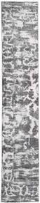 Colored Vintage - Persien/Iran Teppe 65X383 Ekte Moderne Håndknyttet Teppeløpere Lys Grå/Beige (Ull, Persia/Iran)