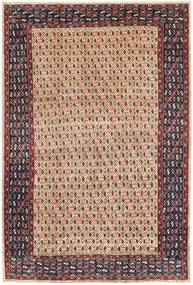 Arak Patina Teppe 205X305 Ekte Orientalsk Håndknyttet Mørk Brun/Mørk Rød (Ull, Persia/Iran)