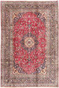 Kashmar Teppe 198X293 Ekte Orientalsk Håndknyttet Mørk Rød/Beige (Ull, Persia/Iran)