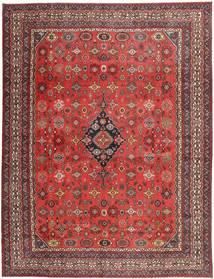 Hamadan Shahrbaf Patina Teppe 313X413 Ekte Orientalsk Håndknyttet Mørk Rød/Rust Stort (Ull, Persia/Iran)