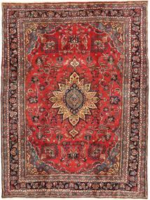 Hamadan Shahrbaf Patina Teppe 220X300 Ekte Orientalsk Håndknyttet Mørk Rød/Mørk Brun (Ull, Persia/Iran)