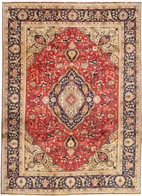 Tabriz Teppe 246X338 Ekte Orientalsk Håndknyttet Mørk Rød/Mørk Brun (Ull, Persia/Iran)