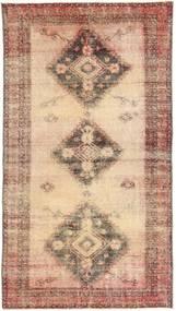 Colored Vintage Teppe 108X203 Ekte Moderne Håndknyttet Lysbrun/Brun (Ull, Persia/Iran)