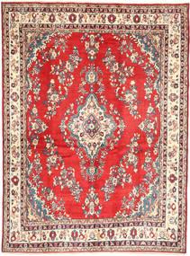 Hamadan#Shahrbaf Teppe 213X288 Ekte Orientalsk Håndknyttet Mørk Beige/Rust (Ull, Persia/Iran)