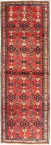 Zanjan Teppe 102X300 Ekte Orientalsk Håndknyttet Teppeløpere Mørk Rød/Mørk Brun (Ull, Persia/Iran)