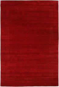 Loribaf Loom Beta - Rød Teppe 190X290 Moderne Mørk Rød/Rust (Ull, India)