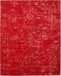 Orient Express - Rød Teppe 240X300 Ekte Moderne Håndknyttet Rød/Rust (Ull/Bambus Silke, India)