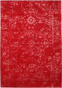 Orient Express - Rød Teppe 240X340 Ekte Moderne Håndknyttet Rød/Rust (Ull/Bambus Silke, India)