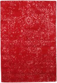Orient Express - Rød Teppe 140X200 Ekte Moderne Håndknyttet Rød (Ull/Bambus Silke, India)