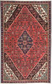 Hamadan Patina Teppe 165X267 Ekte Orientalsk Håndknyttet Mørk Rød/Mørk Brun (Ull, Persia/Iran)