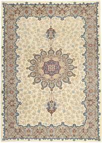 Keshan Patina Teppe 264X368 Ekte Orientalsk Håndknyttet Lys Grå/Beige Stort (Ull, Persia/Iran)